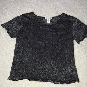 Urban outfitters shimmer top